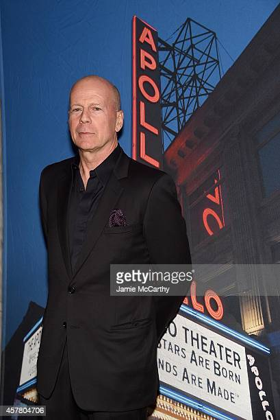 Bruce Willis attends the 13th Annual A Great Night In Harlem Gala Benefiting The Jazz Musicians Emergency Fund at The Apollo Theater on October 24...