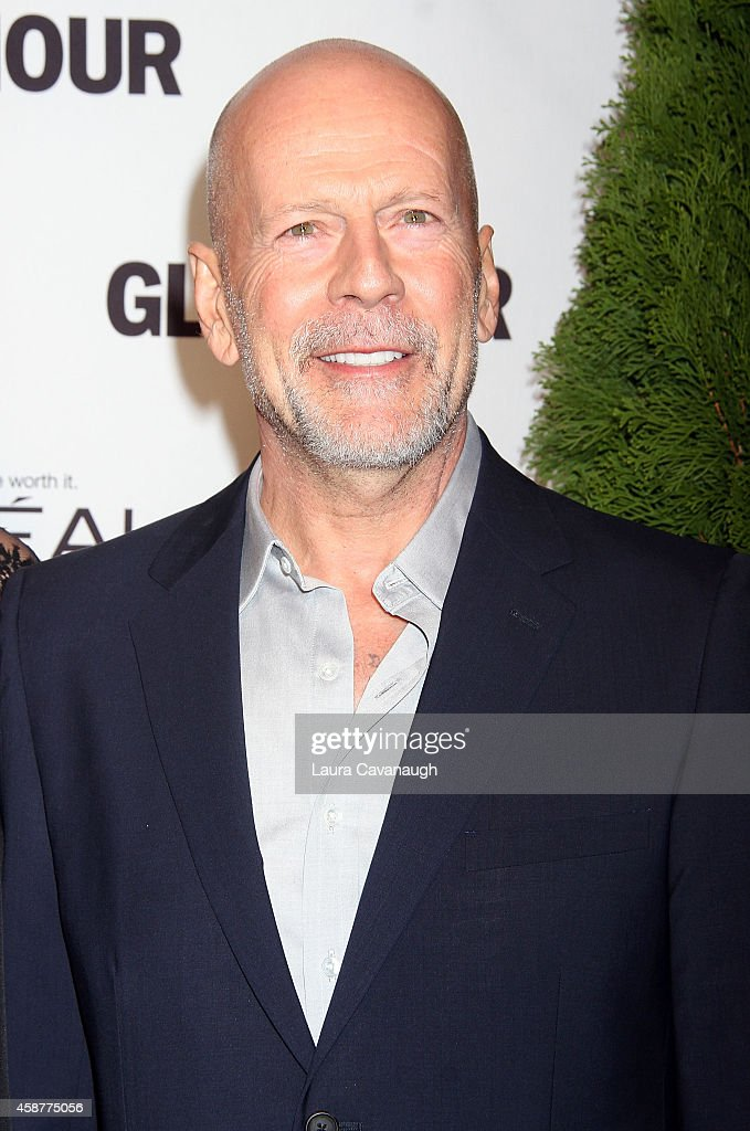 <a gi-track='captionPersonalityLinkClicked' href=/galleries/search?phrase=Bruce+Willis&family=editorial&specificpeople=202185 ng-click='$event.stopPropagation()'>Bruce Willis</a> attends the 2014 Glamour Women Of The Year Awards at Carnegie Hall on November 10, 2014 in New York City.