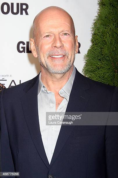 Bruce Willis attends the 2014 Glamour Women Of The Year Awards at Carnegie Hall on November 10 2014 in New York City