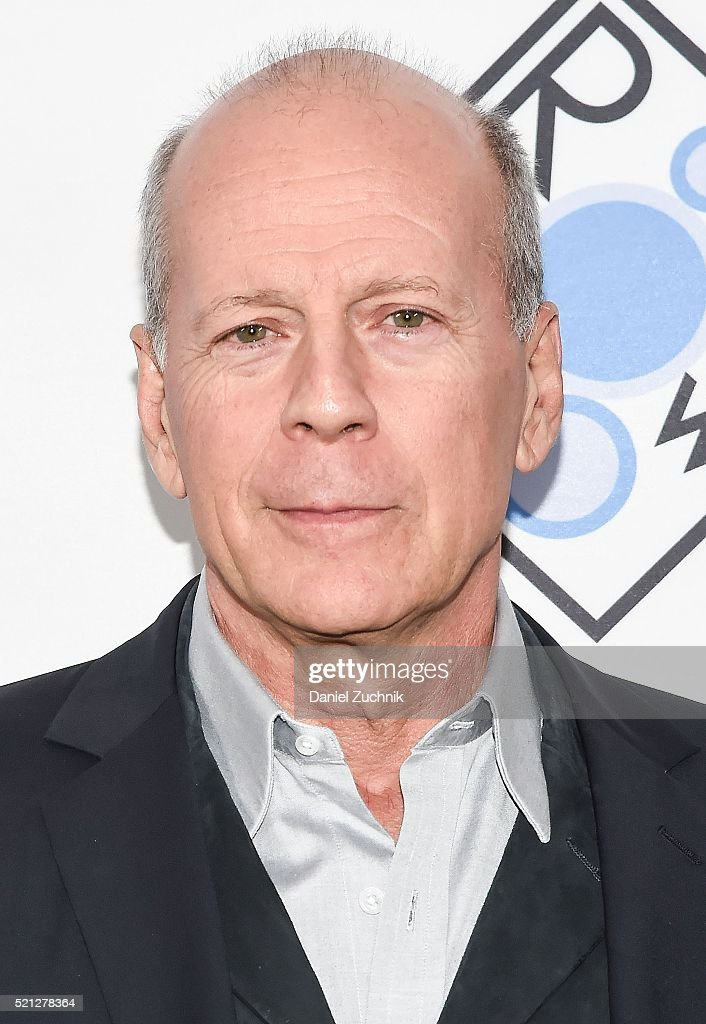 Bruce Willis attends the 2016 Room To Grow Spring Benefit at Tribeca ... Bruce Willis