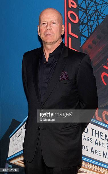 Bruce Willis attends The Jazz Foundation Of America's 13th Annual 'A Great Night In Harlem' Gala Concert at The Apollo Theater on October 24 2014 in...