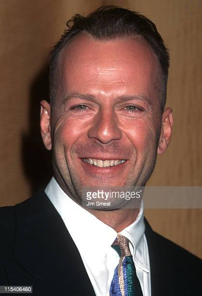 Bruce Willis during Screen Smart Set Awards at Beverly Wilshire Hotel in Beverly Hills California United States