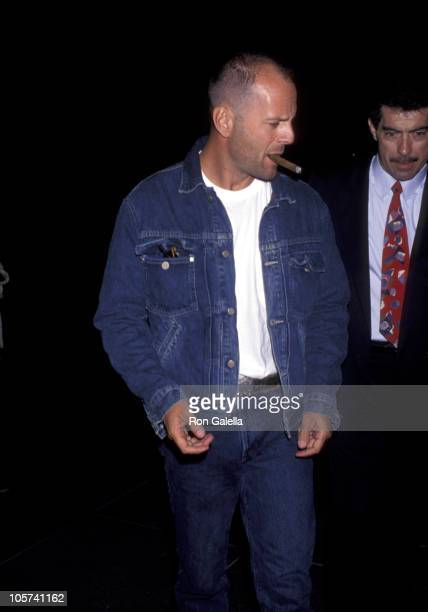 Bruce Willis during Screening of 'A Bronx Tale' at Director's Guild in Hollywood California United States