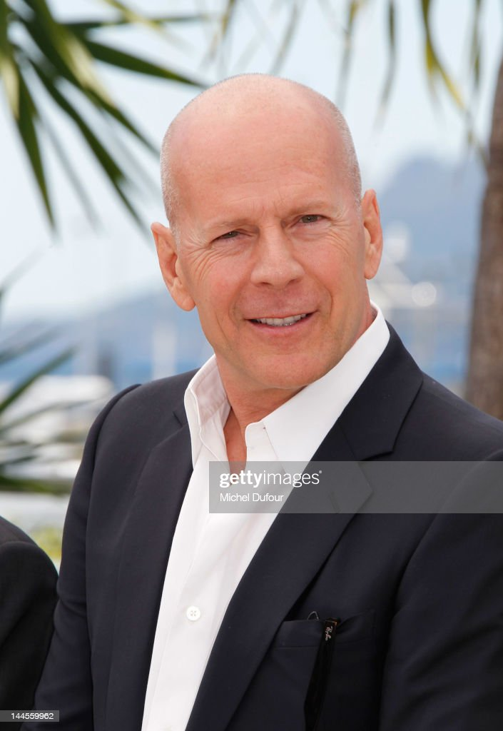 <a gi-track='captionPersonalityLinkClicked' href=/galleries/search?phrase=Bruce+Willis&family=editorial&specificpeople=202185 ng-click='$event.stopPropagation()'>Bruce Willis</a> poses at the 'Moonrise Kingdom' photocall during the 65th Annual Cannes Film Festival at Palais des Festivals on May 16, 2012 in Cannes, France.