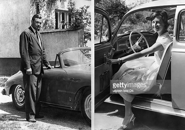 Bruder Ernst Piech Enkel von Porscheund Elisabeth NordhoffAugust 1959