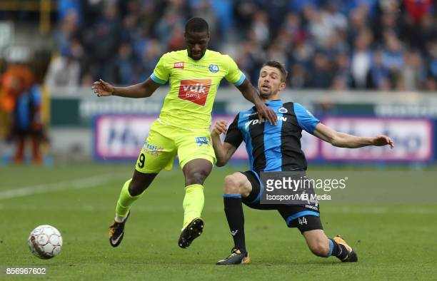 20171001 Bruges Belgium / Club Brugge v Kaa Gent / 'nMamadou SYLLA Brandon MECHELE'nFootball Jupiler Pro League 2017 2018 Matchday 9 / 'nPicture by...