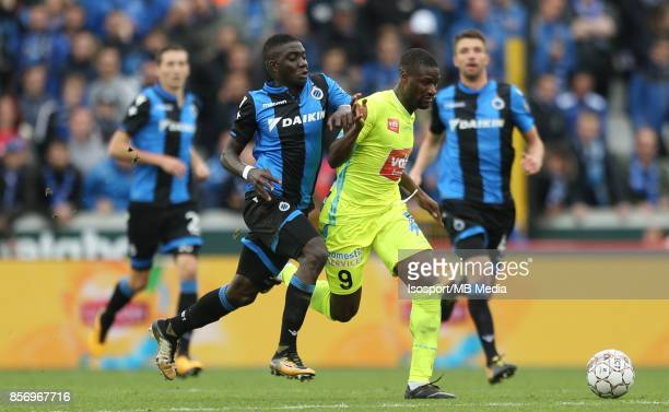 20171001 Bruges Belgium / Club Brugge v Kaa Gent / 'nMarvelous NAKAMBA Mamadou SYLLA'nFootball Jupiler Pro League 2017 2018 Matchday 9 / 'nPicture by...