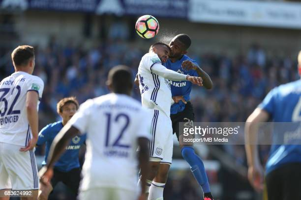 20170514 Bruges Belgium / Club Brugge v Rsc Anderlecht / Isaac Kiese THELIN Stefano DENSWIL Jupiler Pro League PlayOff 1 Matchday 8 at the Jan...