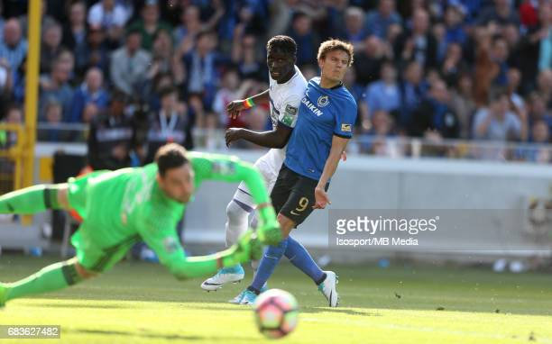 20170514 Bruges Belgium / Club Brugge v Rsc Anderlecht / Kara MBODJI Jelle VOSSEN Jupiler Pro League PlayOff 1 Matchday 8 at the Jan Breydel stadium...