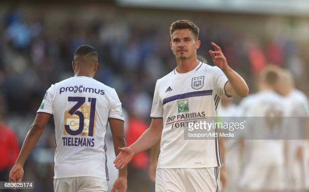20170514 Bruges Belgium / Club Brugge v Rsc Anderlecht / Leander DENDONCKER Jupiler Pro League PlayOff 1 Matchday 8 at the Jan Breydel stadium...