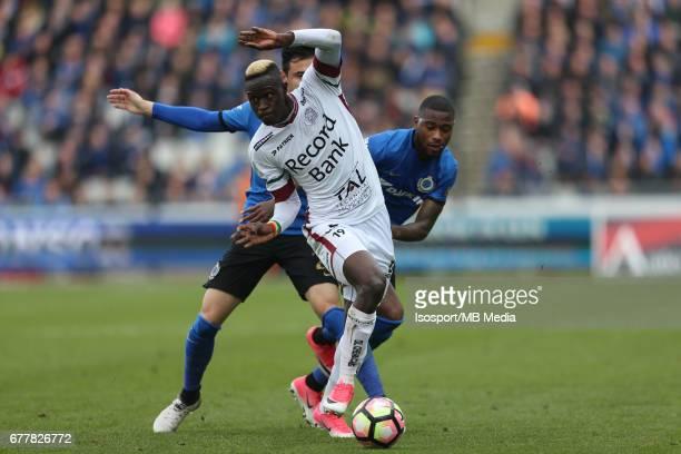 20170501 Bruges Belgium / Club Brugge v Zulte Waregem 'nBabacar GUEYE'nJupiler Pro League PlayOff 1 Matchday 6 at the Jan Breydel stadium 'nPicture...