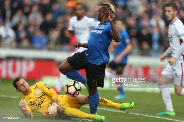 20170501 Bruges Belgium / Club Brugge v Zulte Waregem 'nKenny STEPPE Jose IZQUIERDO'nJupiler Pro League PlayOff 1 Matchday 6 at the Jan Breydel...