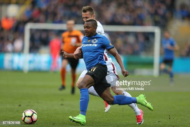 20170501 Bruges Belgium / Club Brugge v Zulte Waregem 'nLukas LERAGER Jose IZQUIERDO'nJupiler Pro League PlayOff 1 Matchday 6 at the Jan Breydel...
