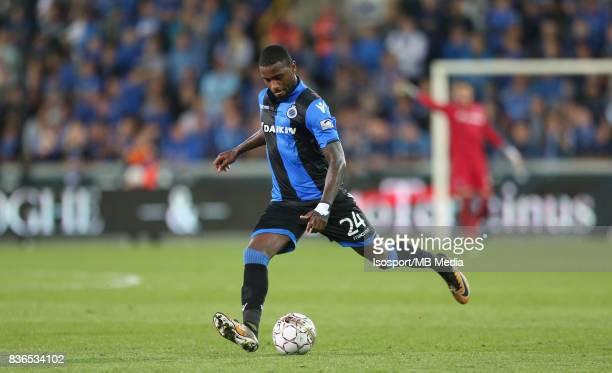 Club Brugge v Aek Athens / Stefano DENSWIL / Football Uefa Europa League 2017 2018 PlayOffs 1st leg / Picture Vincent Van Doornick / Isosport