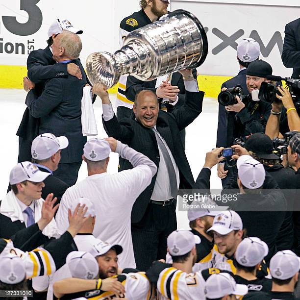 Bruins head coach Claude Julien takes his turn the Stanley Cup The Boston Bruins visited the Vancouver Canucks for Game Seven of the Stanley Cup...