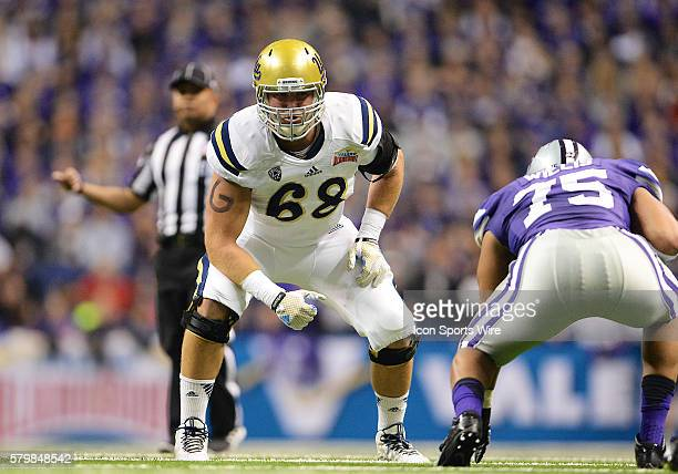 Bruins offensive lineman Conor McDermott during the 2015 Alamobowl in the Alamodome in San Antonio Texas