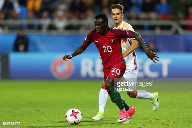 Bruma during the UEFA European Under21 match between Portugal and Spain on June 20 2017 in Gdynia Poland