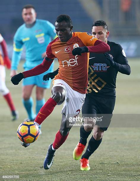 Bruma of Galatasaray in action during the Turkish Spor Toto Super Lig football match between Osmanlispor and Galatasaray at the Osmanli Stadium in...