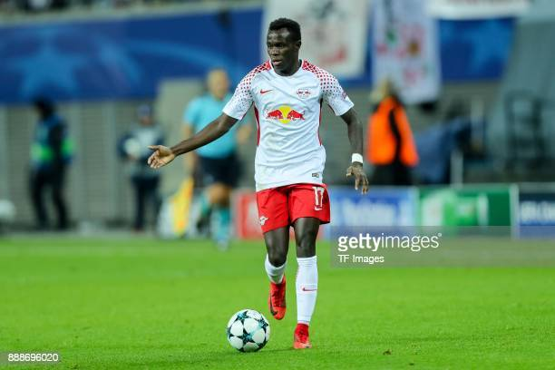 Bruma of Leipzig controls the ball during the UEFA Champions League group G soccer match between RB Leipzig and Besiktas at the Leipzig Arena in...