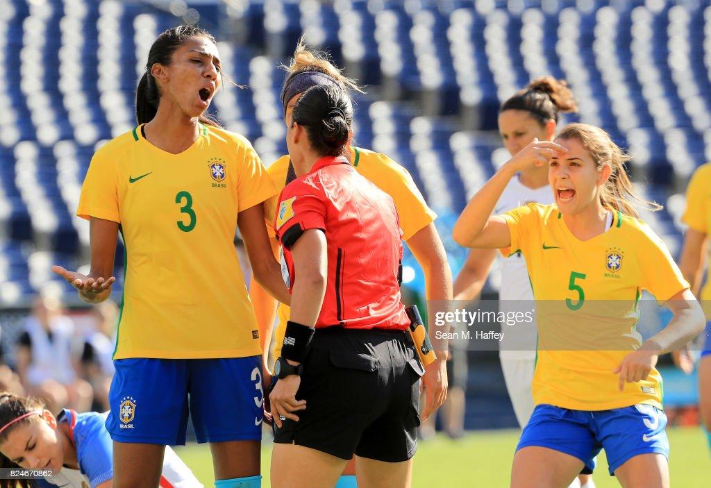 2017 Tournament Of Nations - Brazil v United States