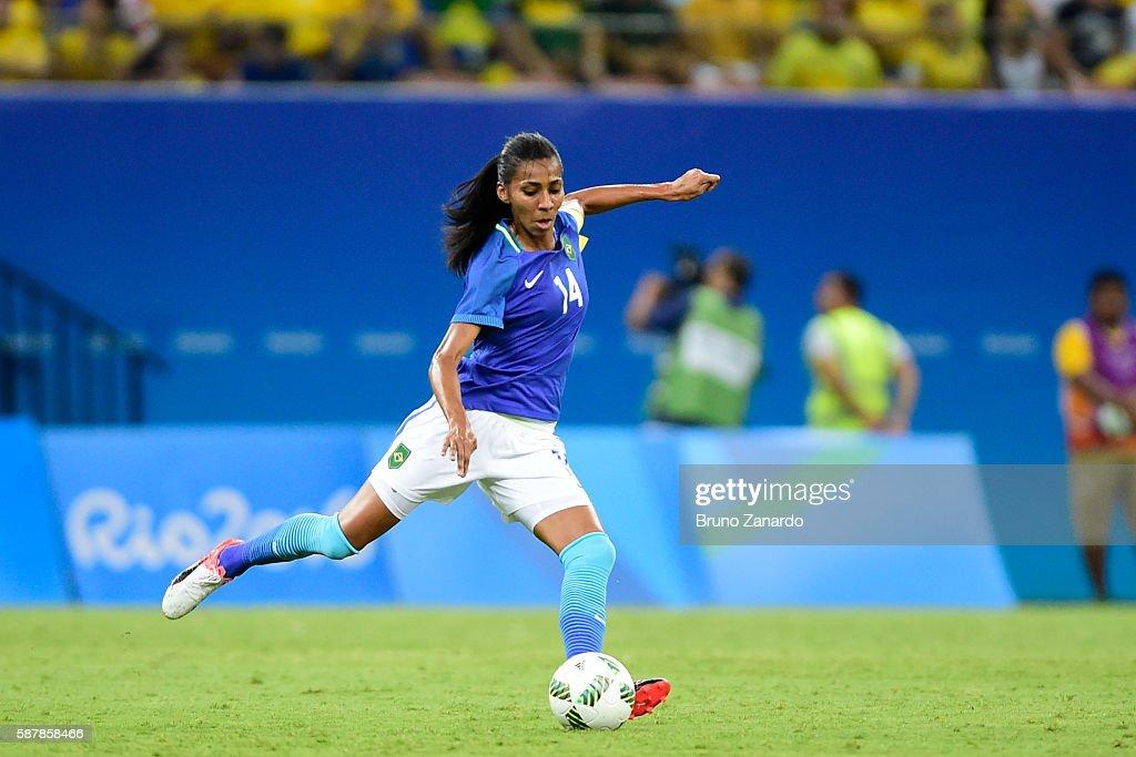 South Africa v Brazil: Women's Football - Olympics: Day 4