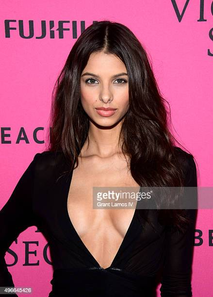 Bruna Lirio attends the 2015 Victoria's Secret Fashion After Party at TAO Downtown on November 10 2015 in New York City