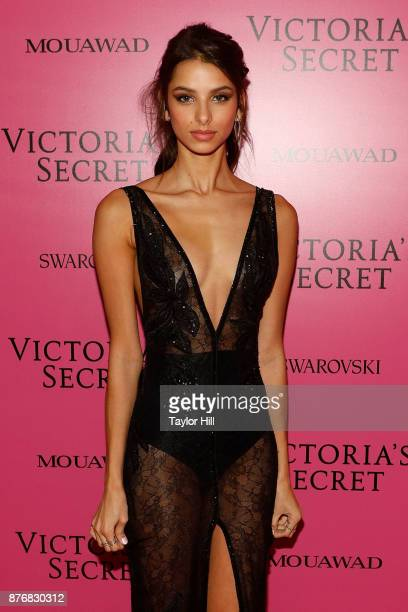 Bruna Lirio attends the 2017 Victoria's Secret Fashion Show After Party on November 20 2017 in Shanghai China