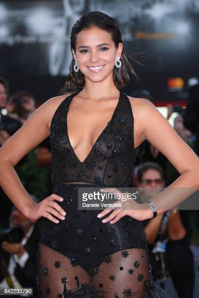 Bruna Marquezine walks the red carpet ahead of the 'The Leisure Seeker ' screening during the 74th Venice Film Festival at Sala Grande on September 3...