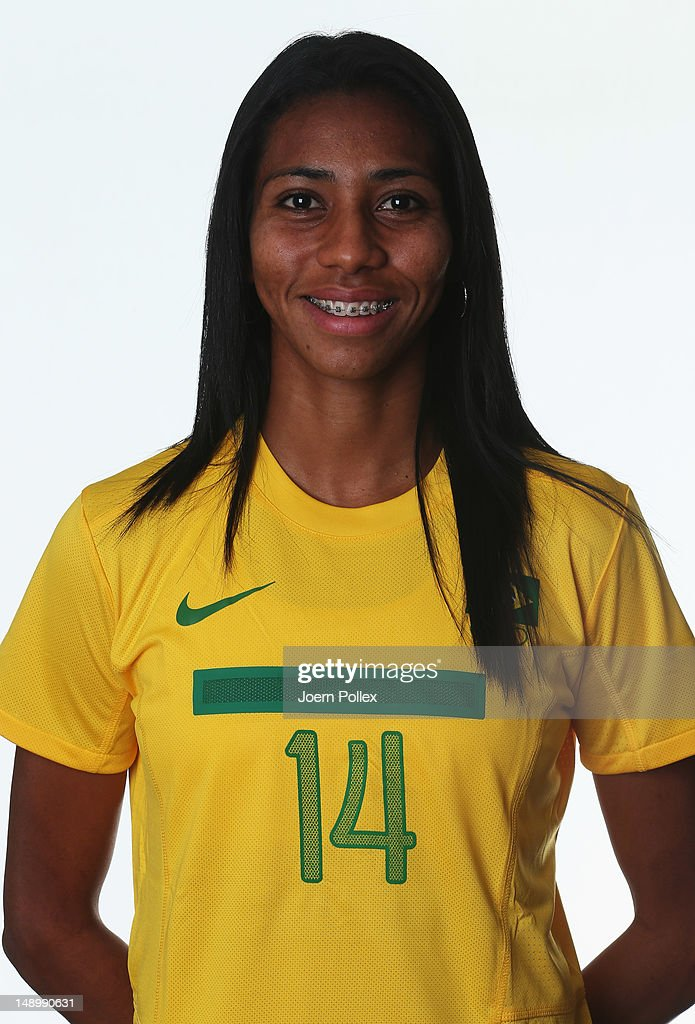Brazil Women's Official Olympic Football Team Portraits