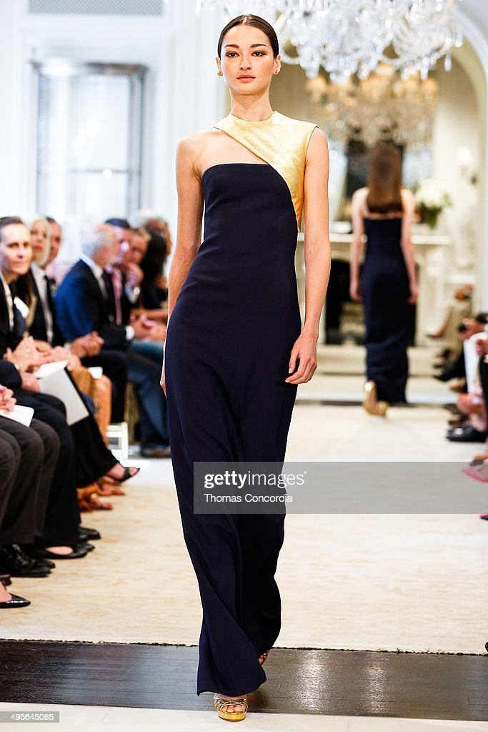 <a gi-track='captionPersonalityLinkClicked' href=/galleries/search?phrase=Bruna+Tenorio&family=editorial&specificpeople=4341430 ng-click='$event.stopPropagation()'>Bruna Tenorio</a> walks the runway during the Ralph Lauren resort 2015 showing on June 4, 2014 in New York City.