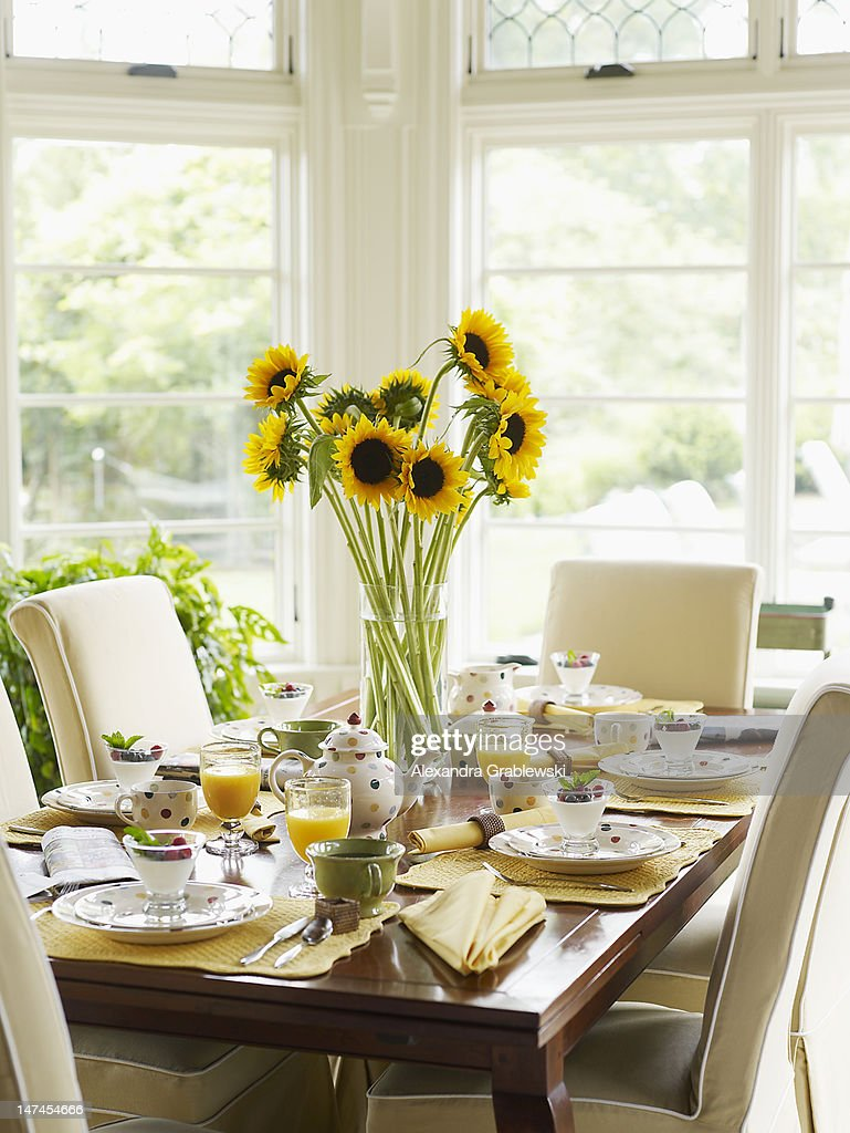 Brunch Table : Stock Photo