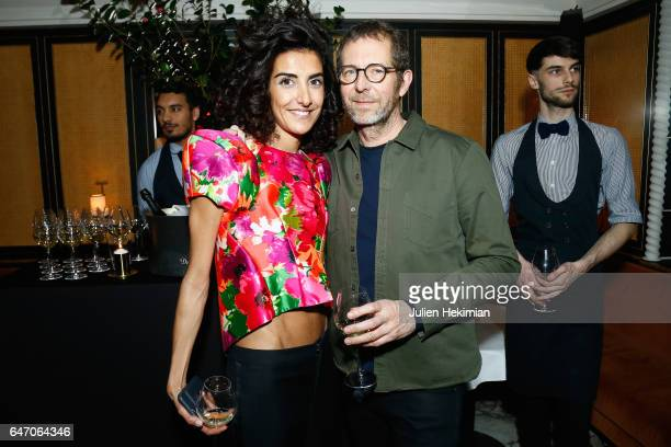 Brune Buonoman and Remi Babinet attend the Mastermind Magazine launch dinner as part of Paris Fashion Week Womenswear Fall/Winter 2017/2018 at Loulou...