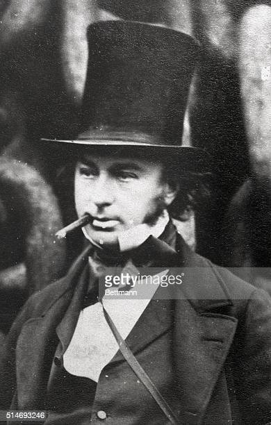 I K Brunel Railroad designer and builder Built the Great Western the first steamship Photo 1850's