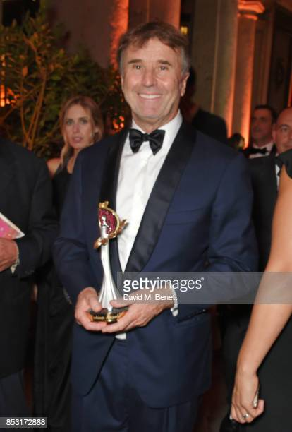 Brunello Cucinelli attends a private dinner hosted by Livia Firth following the Green Carpet Fashion Awards Italia at Palazzo Marino on September 24...