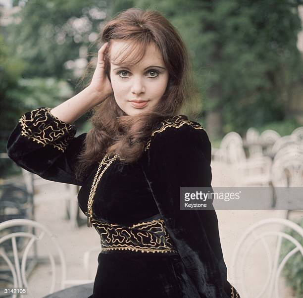 Brunette actress Madeline Smith one of the stars in 'The Amazing Mr Blunden' directed by Lionel Jeffries