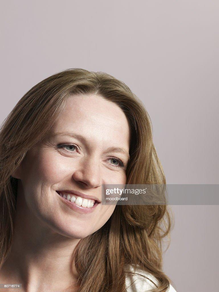 Brunette Woman : Stock Photo