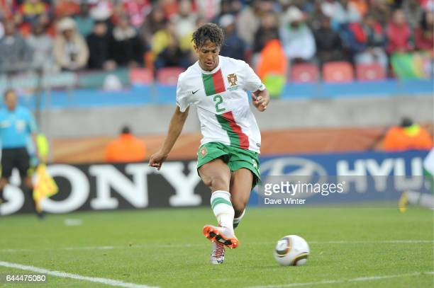 Bruno ALVES Cote d'Ivoire / Portugal Coupe du Monde 2010 Match 13 Groupe G Nelson Mandela Bay Stadium Port Elizabeth Afrique du Sud Photo Dave Winter...