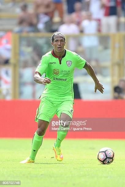 Bruno Alves of Cagliari Calcio in action during the Serie a match between Bologna FC and Cagliari Calcio at Stadio Renato Dall'Ara on September 11...