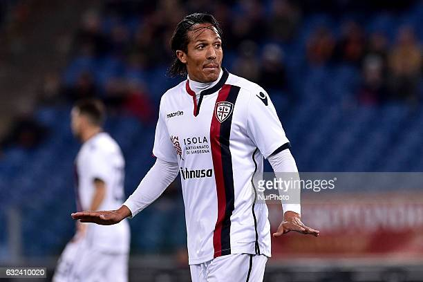Bruno Alves of Cagliari during the Serie A match between Roma and Cagliari at Stadio Olimpico Rome Italy on 22 January 2017 Photo by Giuseppe Maffia