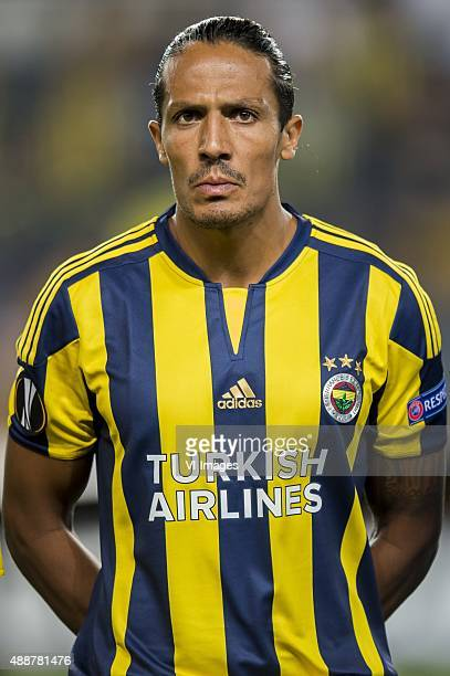 Bruno Alves of Fenerbahce during the UEFA Europa League match between Fenerbahce SK v Molde FK on September 17 2015 at the Sukru Saracoglu stadium in...
