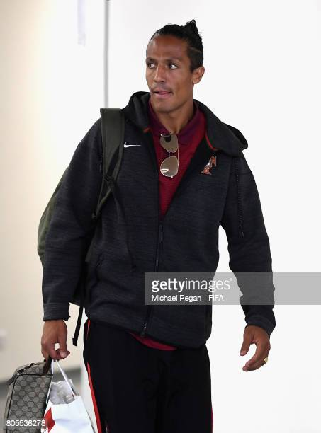Bruno Alves of Portugal arrives at the stadium prior to the FIFA Confederations Cup Russia 2017 PlayOff for Third Place between Portugal and Mexico...