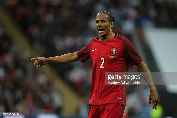 Bruno Alves of Portugal during the International Friendly match between England and Portugal at Wembley Stadium on June 2 2016 in London England
