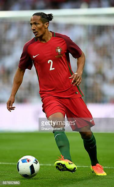 Bruno Alves of Portugal in action during the international friendly match between England and Portugal at Wembley Stadium on June 2 2016 in London...