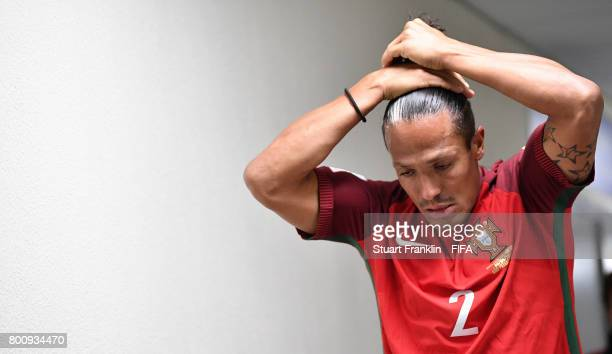 Bruno Alvesof Portugal in the players tunnle during the FIFA Confederation Cup Group A match between New Zealand and Portugal at Saint Petersburg...