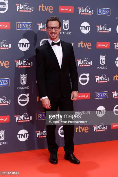 Bruno Ascenzo attends Platino Awards 2017 at La Caja Magica on July 22 2017 in Madrid Spain