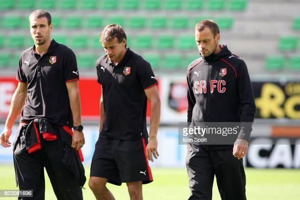 Bruno CHEYROU / Daniel MOREIRA / Mickael PAGIS Rennes / Tavriya Simferopol