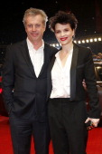 Bruno Dumont and Juliette Binoche attend 'Camille Claudel 1915' Premiere BMW At The 63rd Berlinale International Film Festival at Berlinale Palast on...