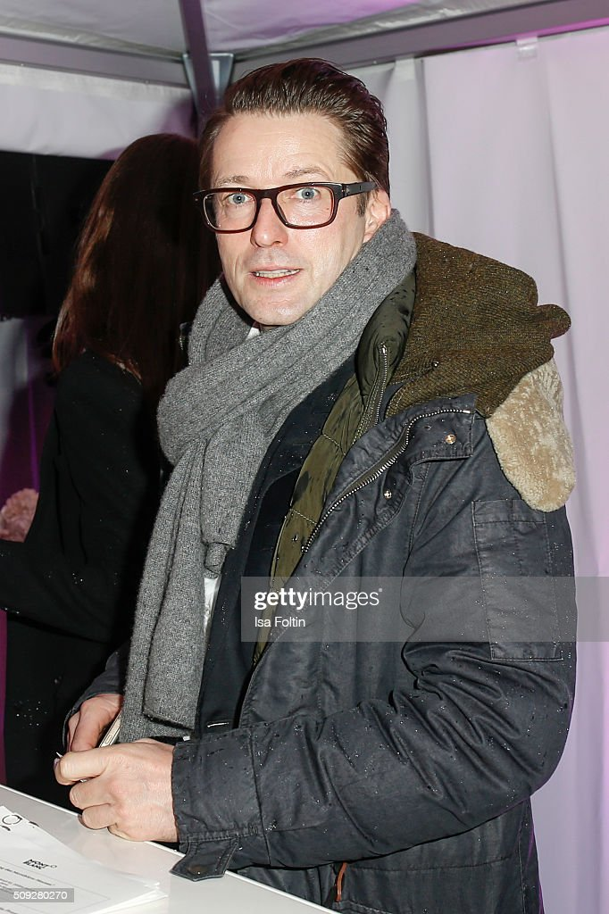 Bruno Eyron attends the Montblanc House Opening on February 09, 2016 in Hamburg, Germany.