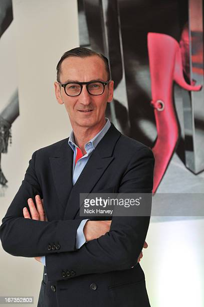 Bruno Frisoni attends the Roger Vivier book launch party at Saatchi Gallery on April 24 2013 in London England