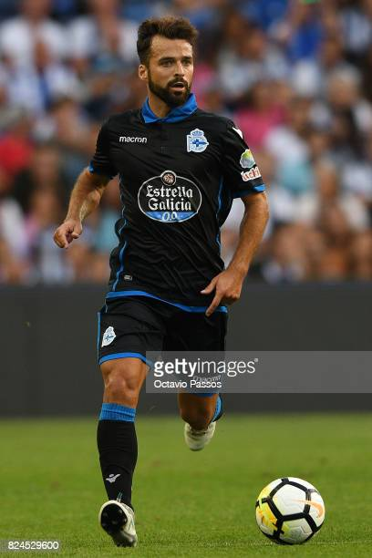 Bruno Gama of RC Deportivo La Coruna in action during the PreSeason Friendly match between FC Porto and RC Deportivo La Coruna at Estadio do Dragao...
